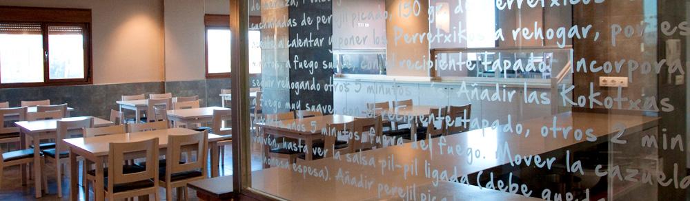 Diseño interior • Sociedad gastronómica Errementeri